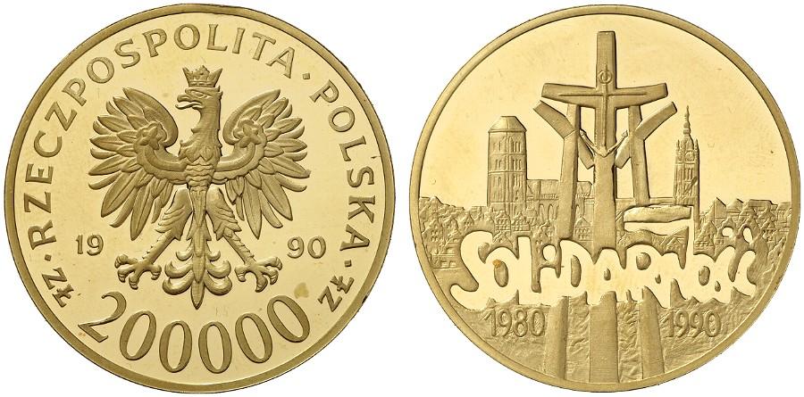 PL 200000 Zloty 1990