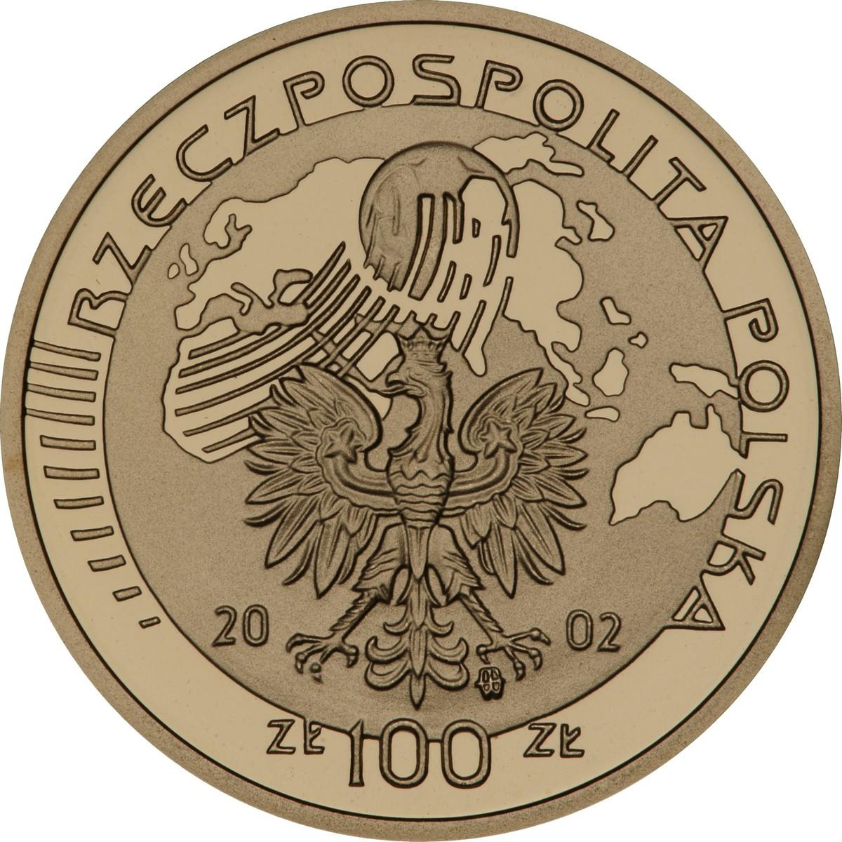 PL 100 Zloty 2002 monogram MW