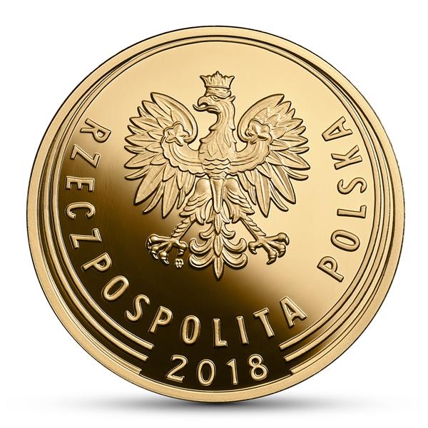 PL 1 Zloty 2018 monogram MW