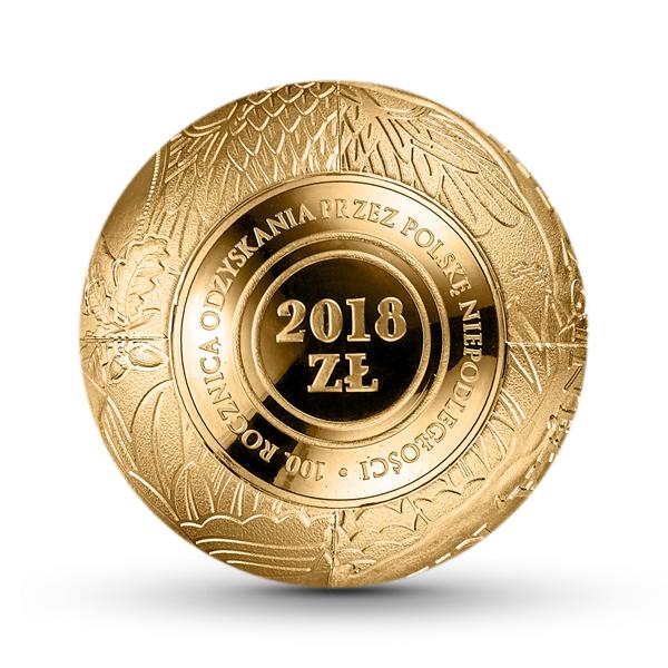 PL 2018 Zloty 2018 monogram MW