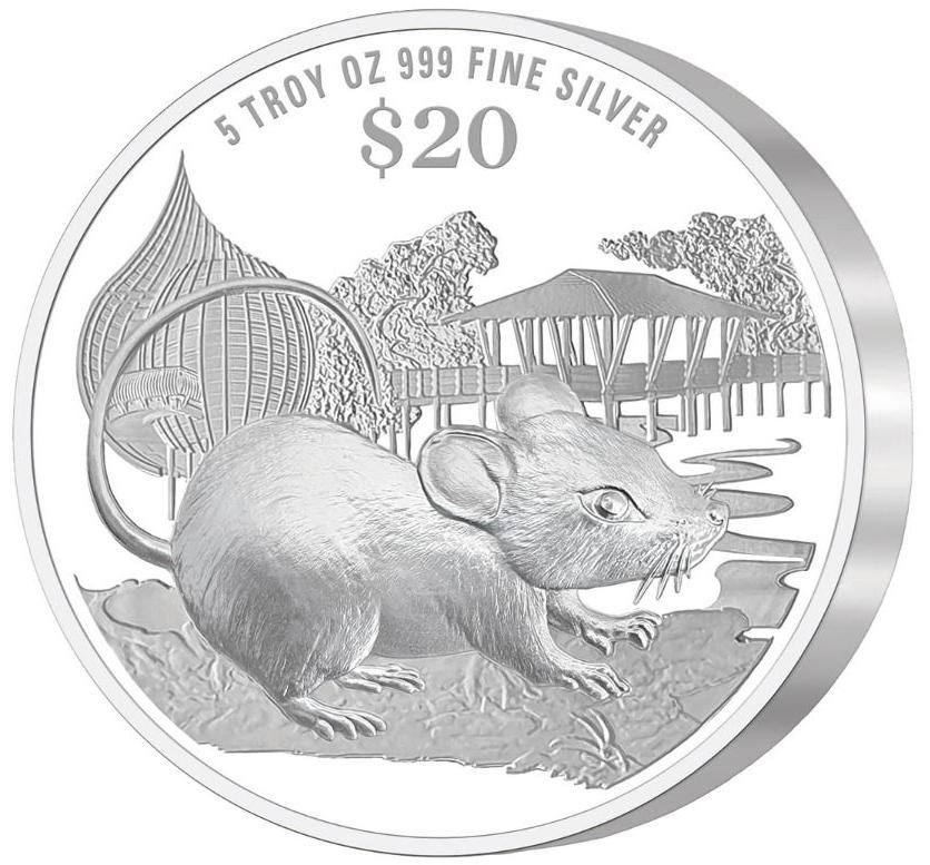 SG 20 Dollars 2020