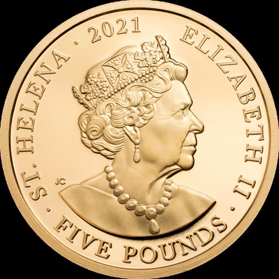 SH 5 Pounds 2021 The East India Company logo