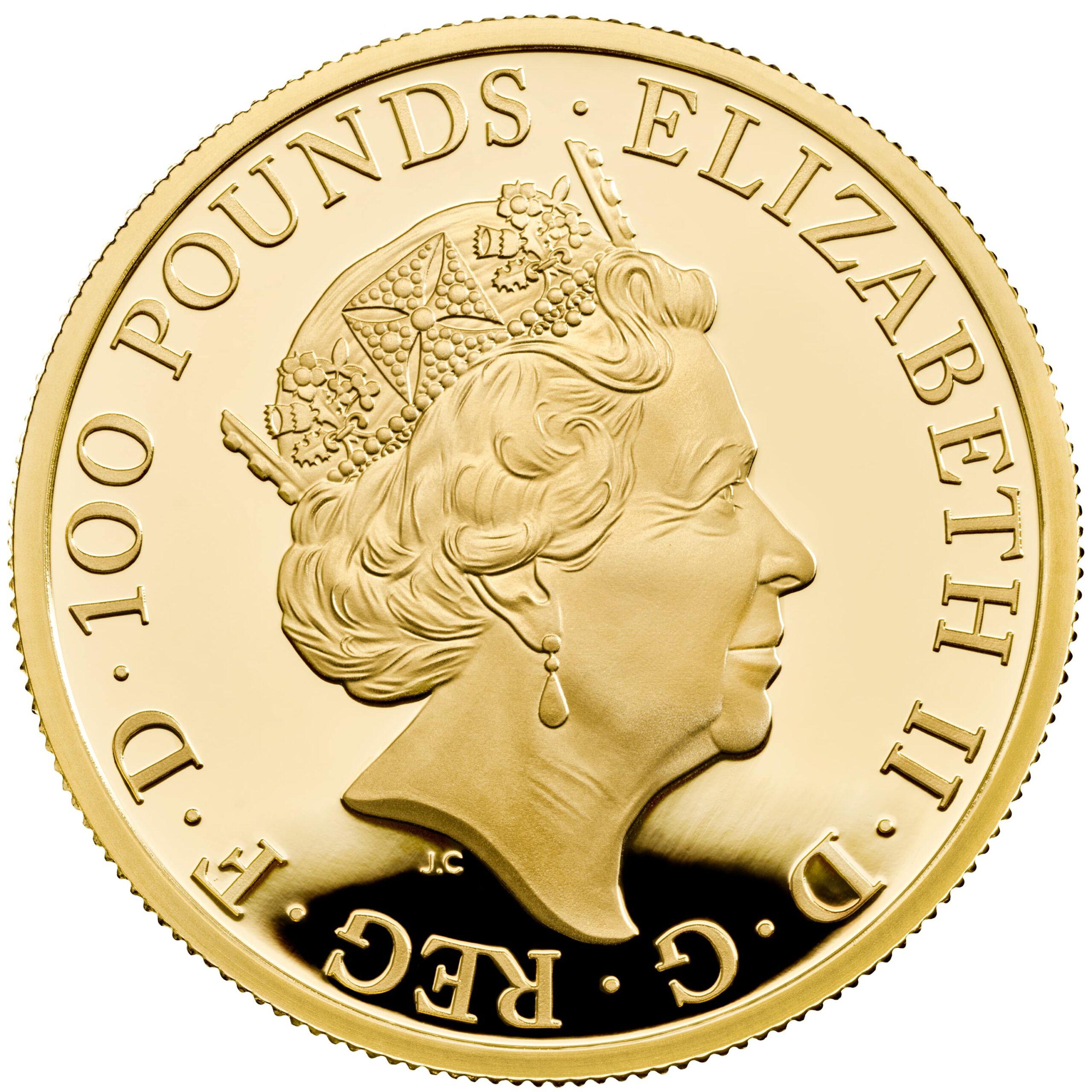 GB 100 Pounds 2021