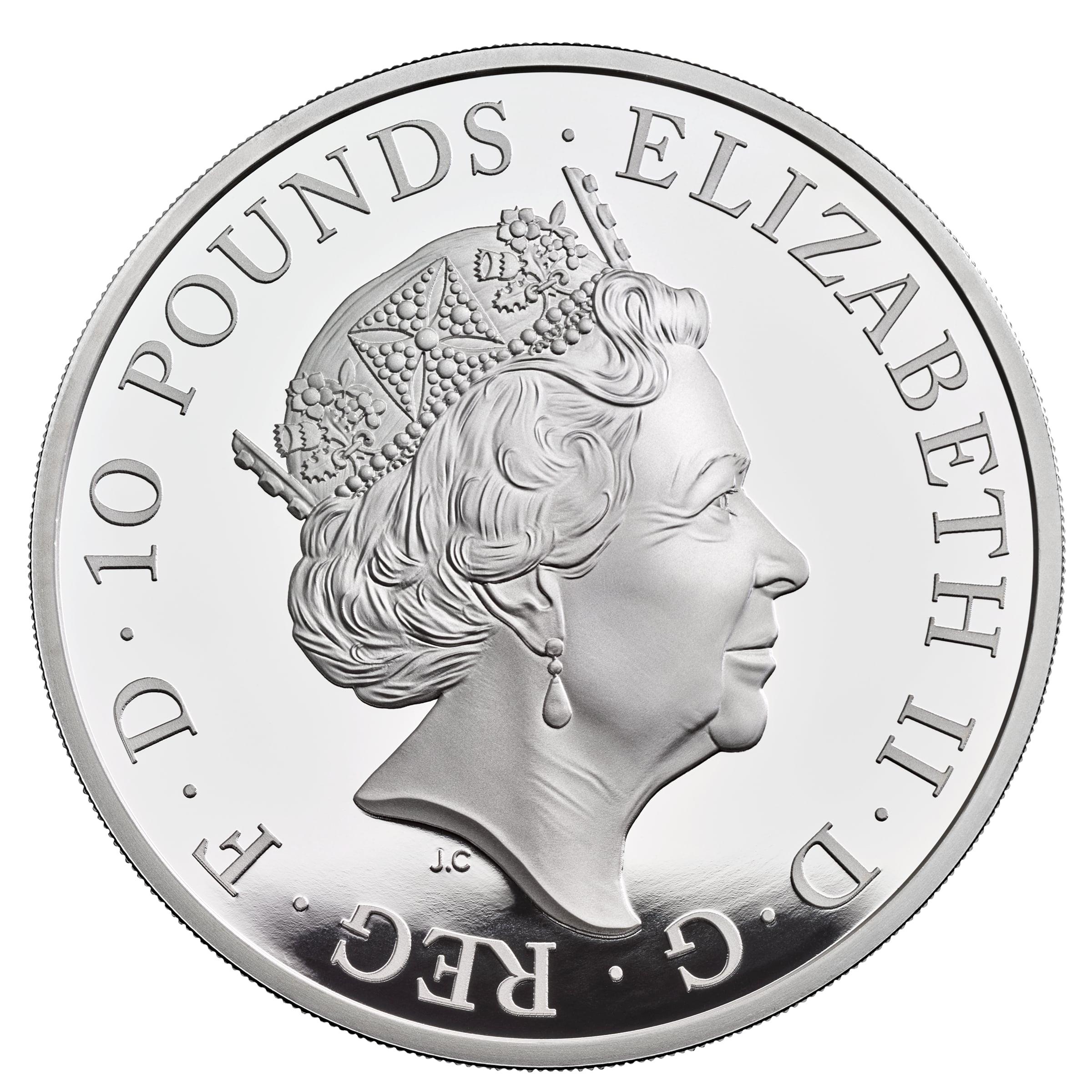 GB 10 Pounds 2021