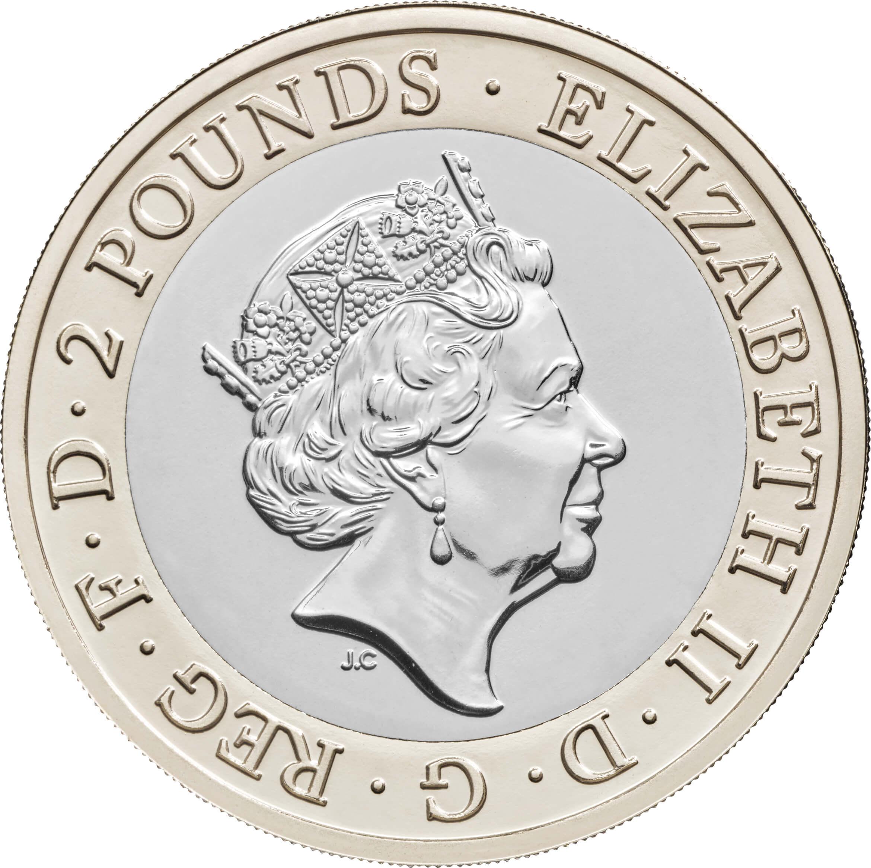 GB 2 Pounds 2021