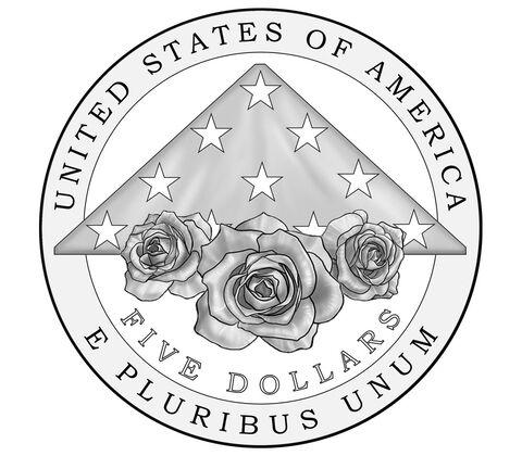 US 5 Dollars 2021 W