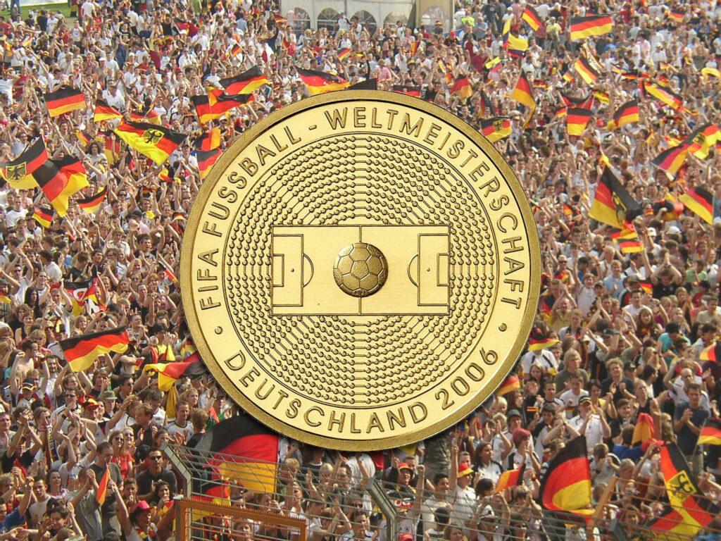 Olympia, Weltmeisterschaften und alles, bei dem Deutschland Flagge zeigt