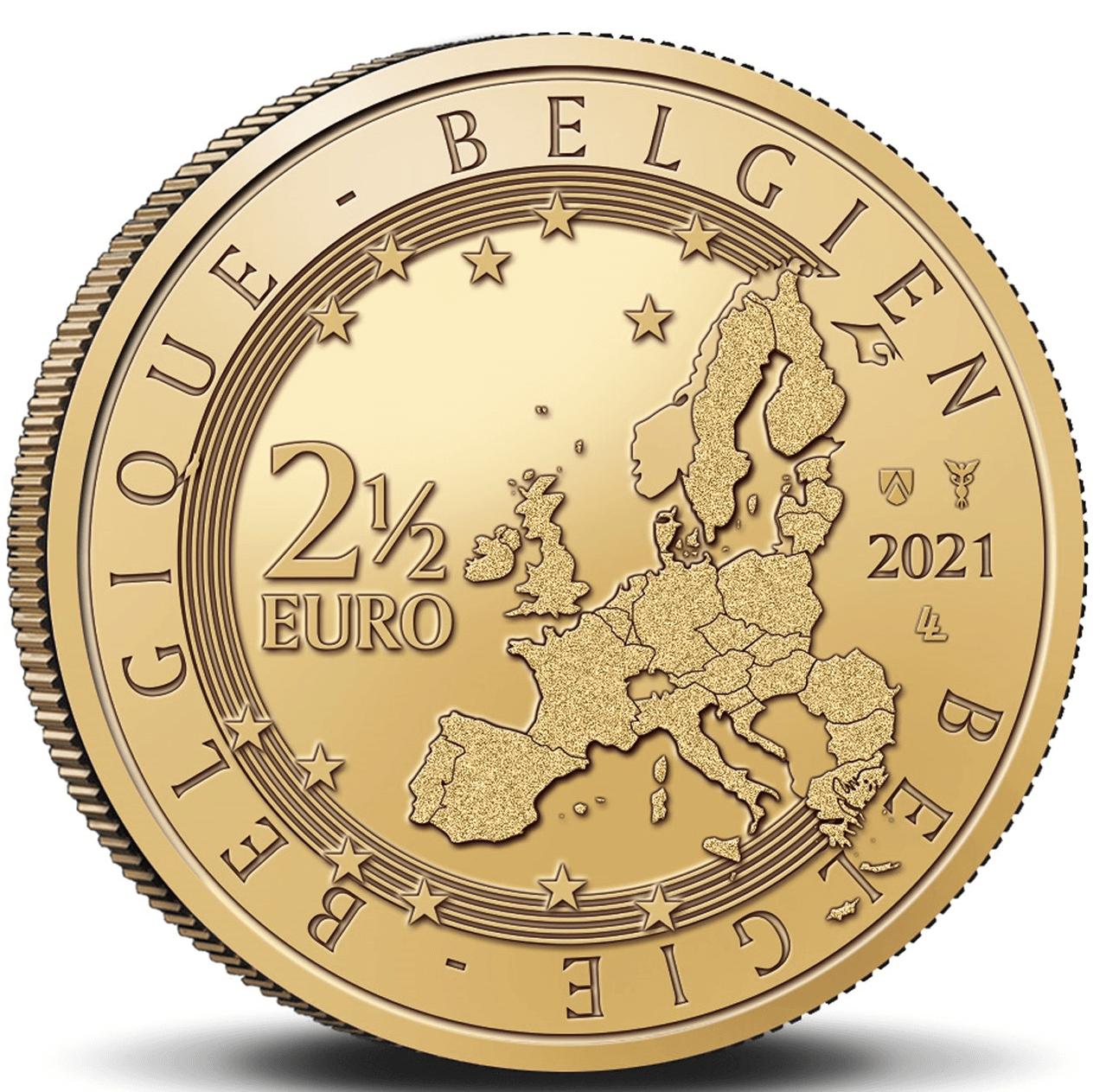 5 Euro 2021 Staff of Mercury