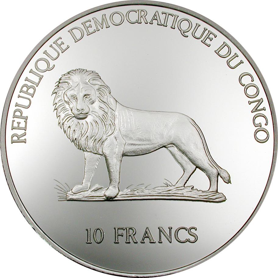 CD 10 Francs 2000