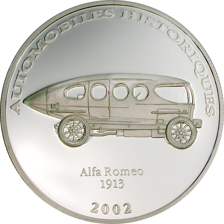 CD 10 Francs 2002