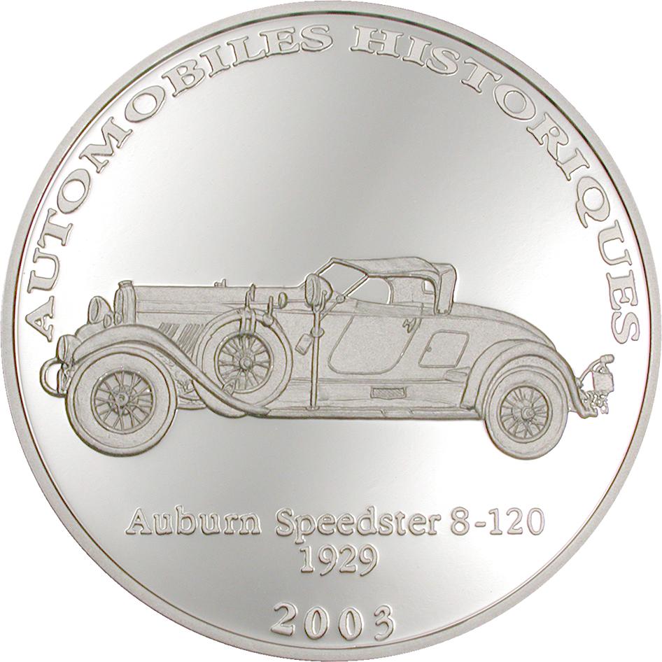 CD 10 Francs 2003