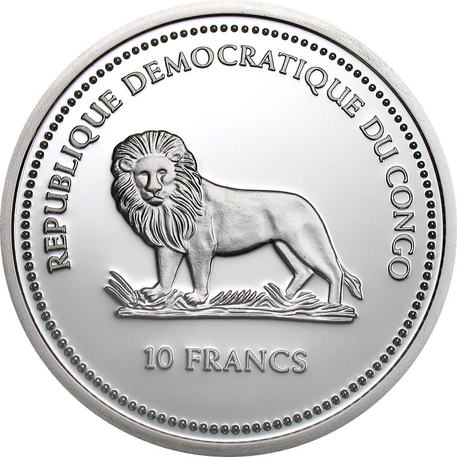 CD 10 Francs 2005