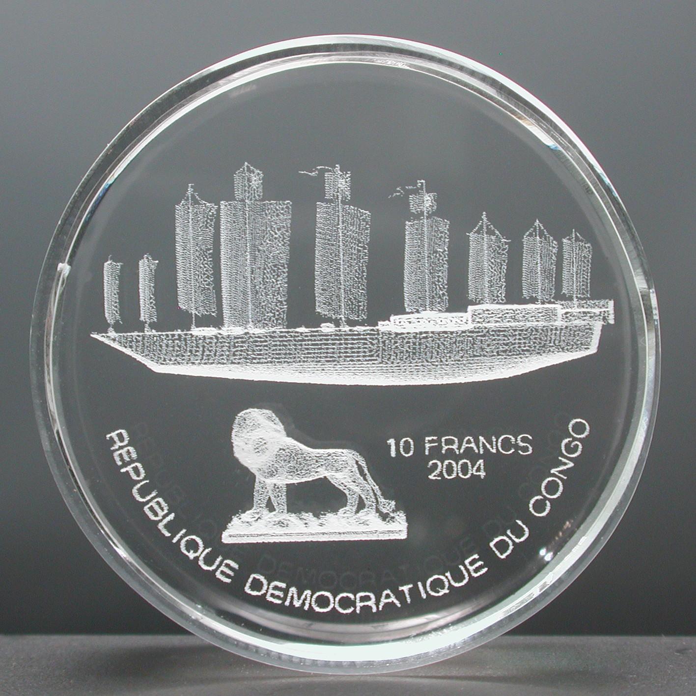 CD 10 Francs 2004
