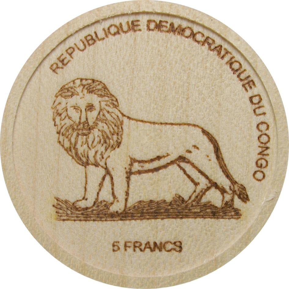 CD 5 Francs 2005