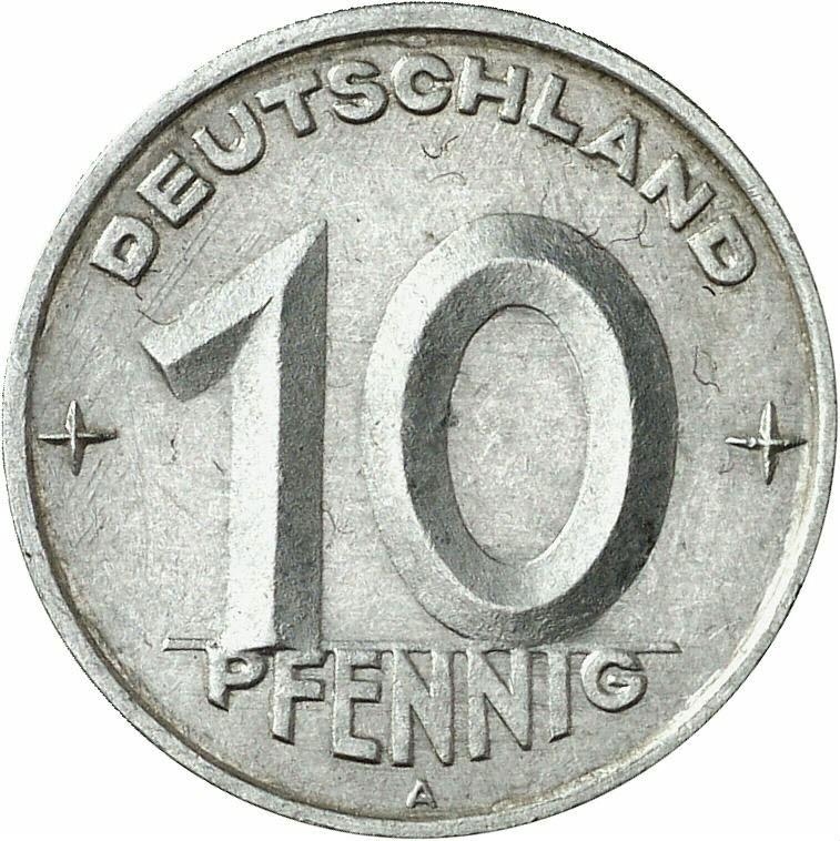 DE 10 Pfennig 1949 A