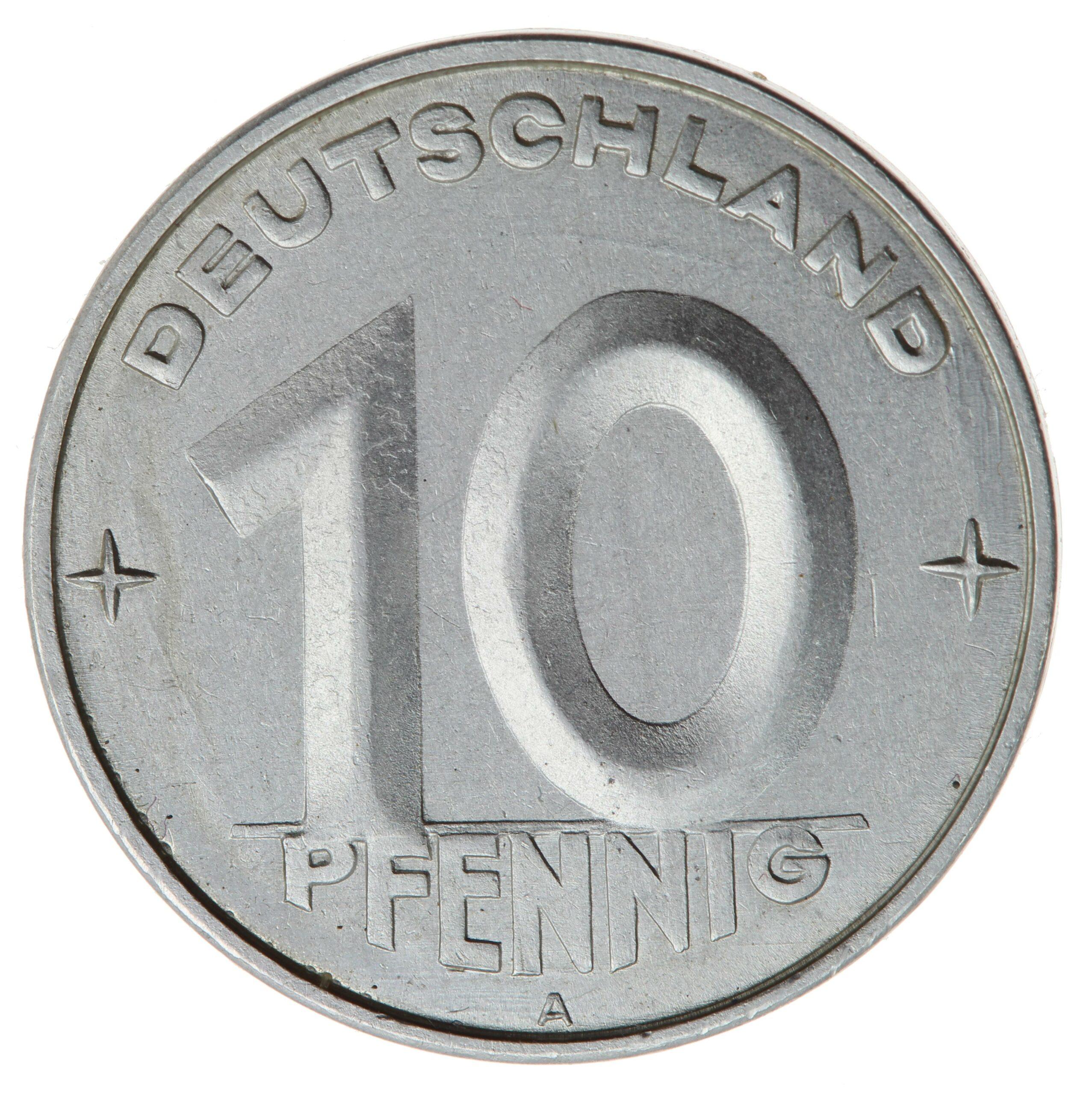 DE 10 Pfennig 1952 A