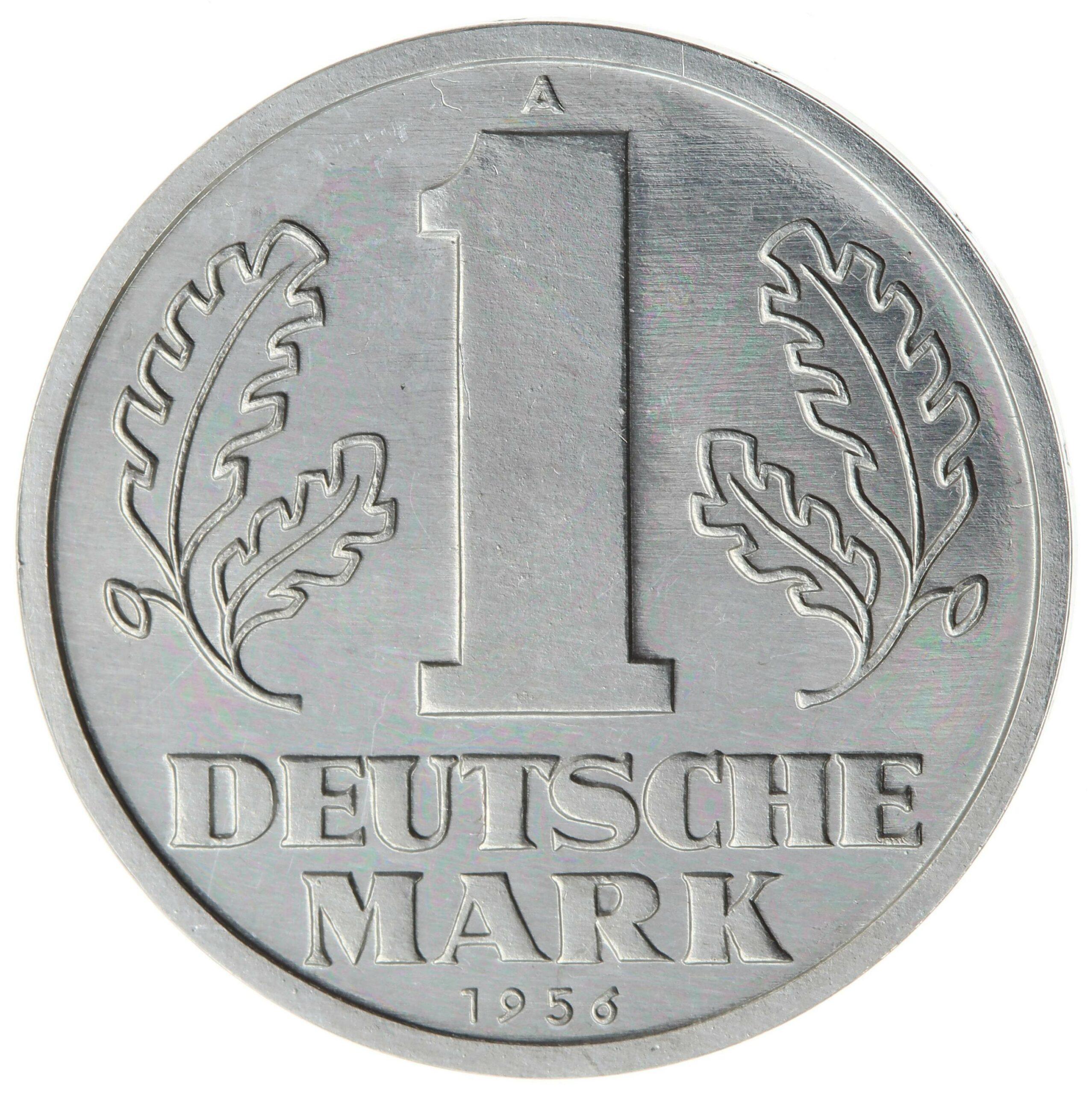 DE 1 Deutsche Mark (Ost) 1956 A