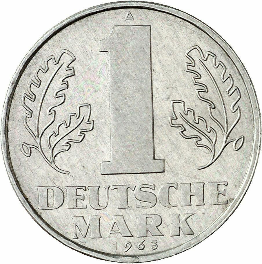 DE 1 Deutsche Mark (Ost) 1963 A