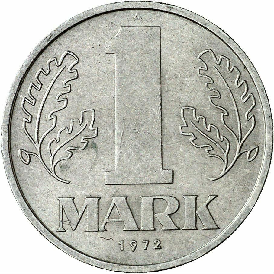 DE 1 Mark der DDR 1972 A
