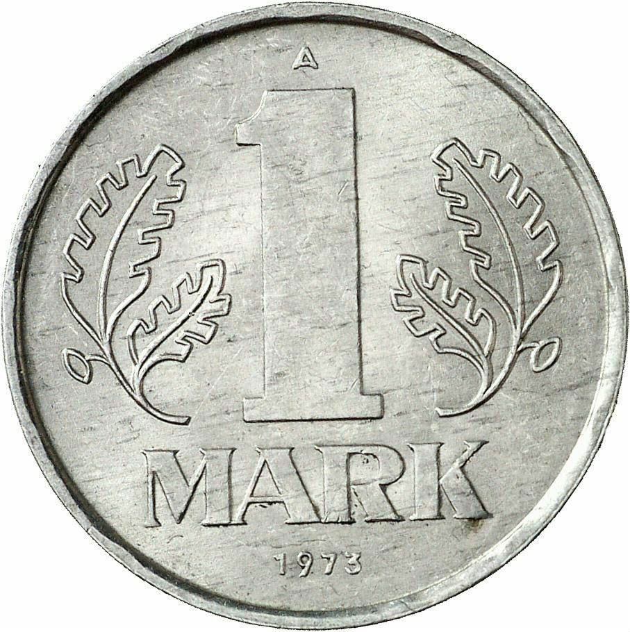 DE 1 Mark der DDR 1973 A