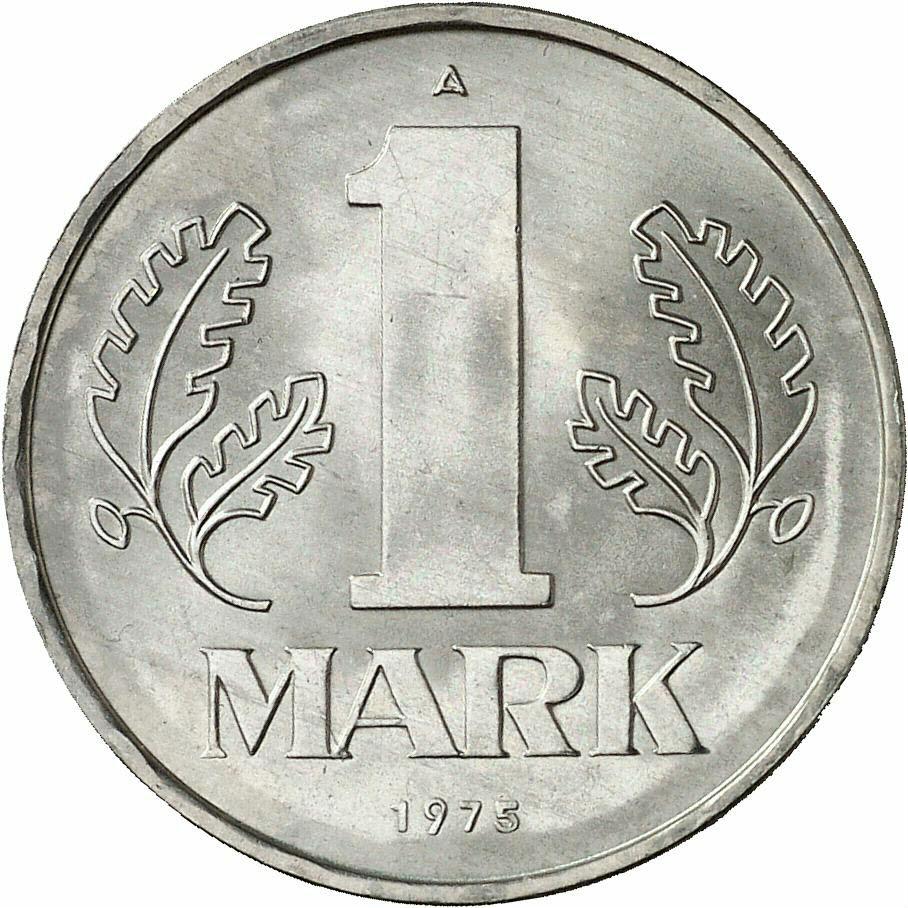 DE 1 Mark der DDR 1975 A