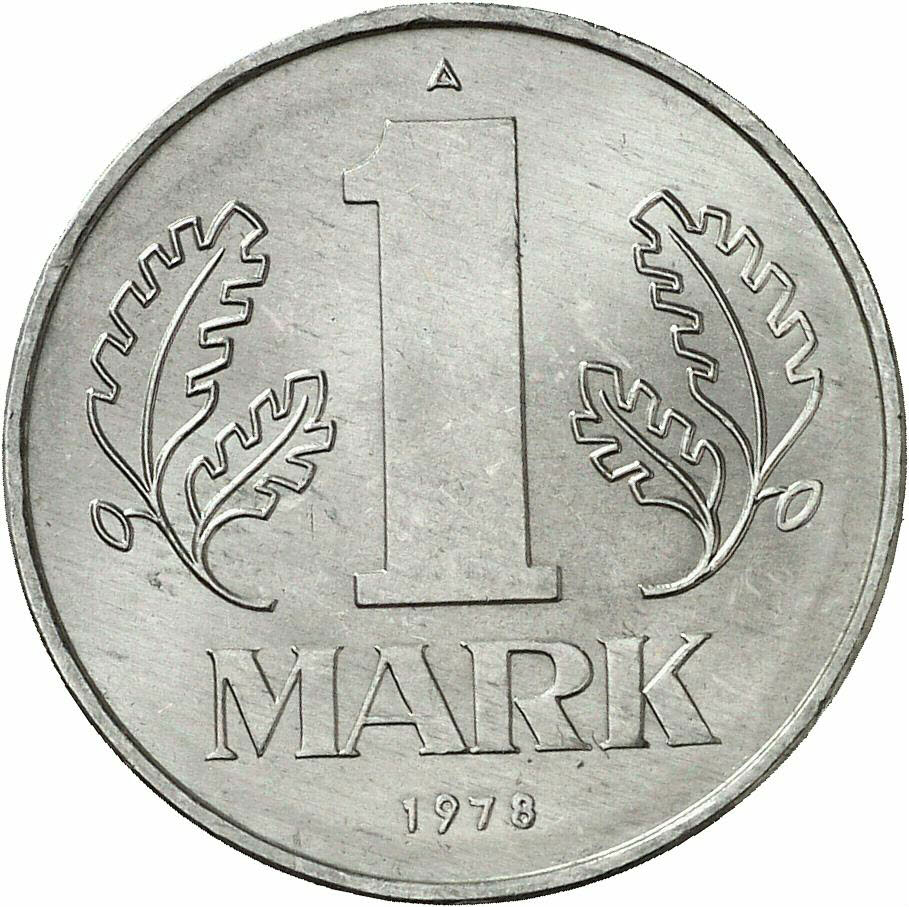 DE 1 Mark der DDR 1978 A