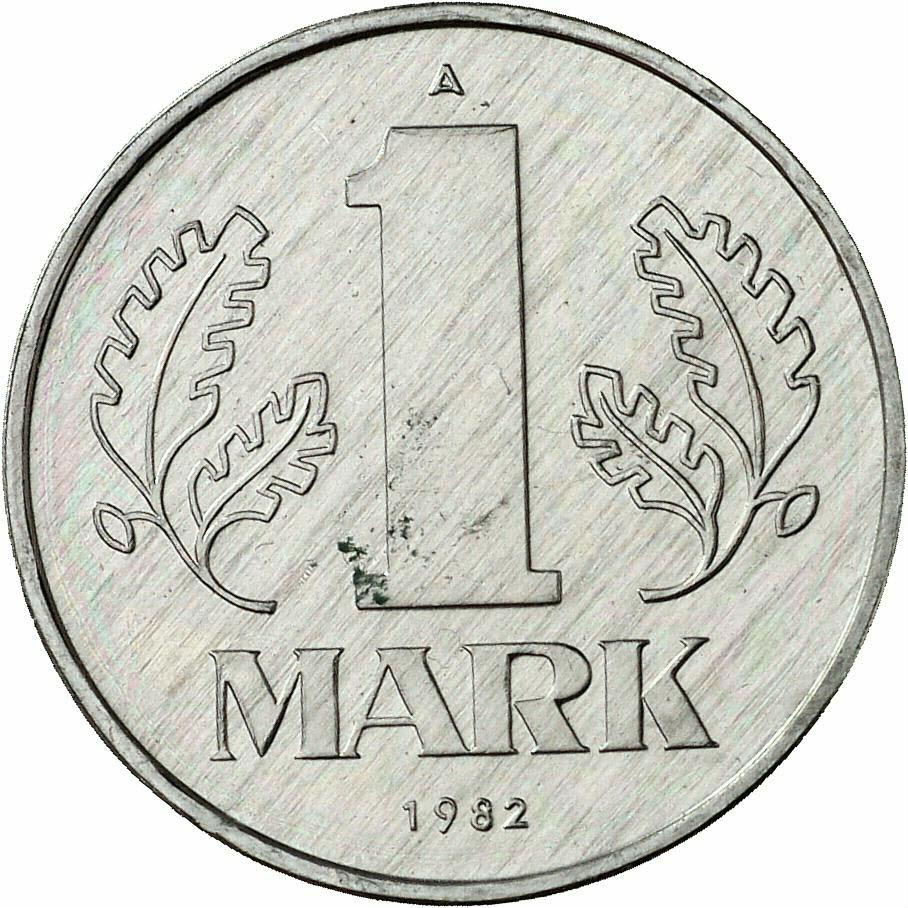 DE 1 Mark der DDR 1982 A