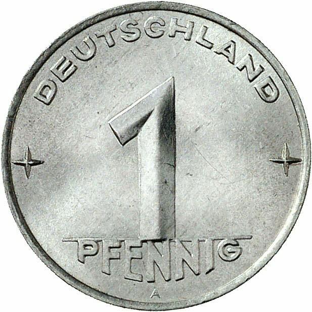 DE 1 Pfennig 1952 E
