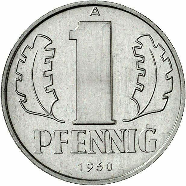 DE 1 Pfennig 1960 A
