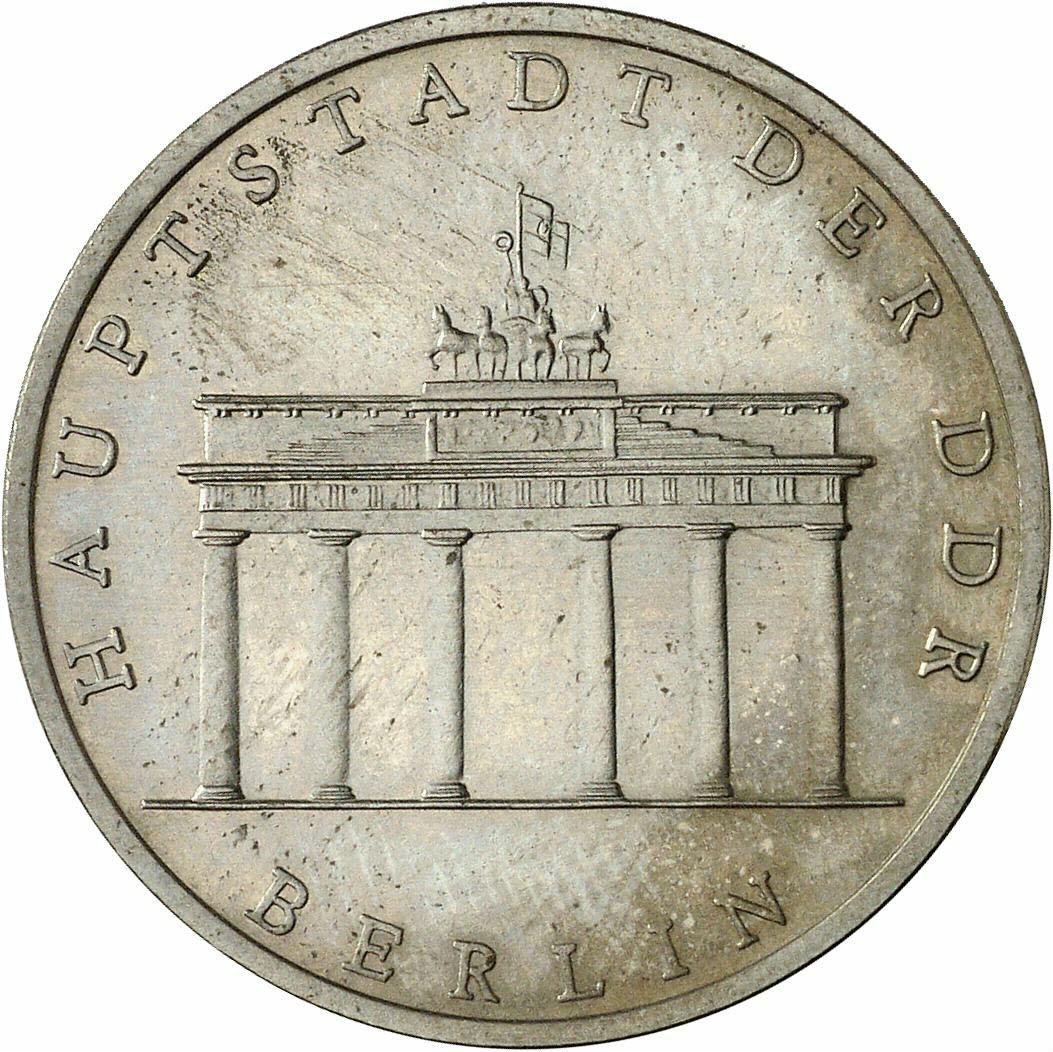 DE 5 Mark der DDR 1980 A