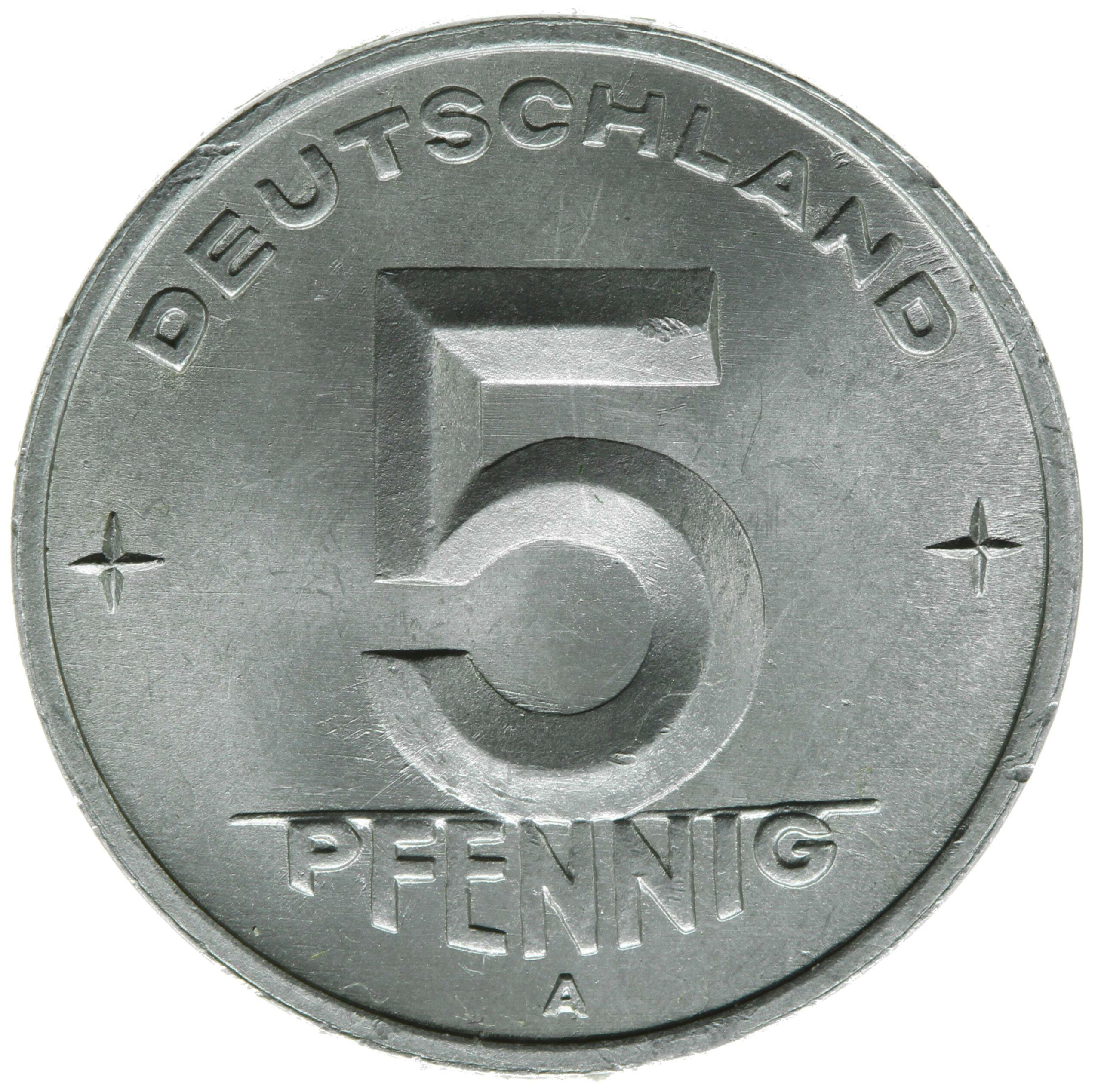 DE 5 Pfennig 1949 A