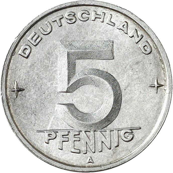 DE 5 Pfennig 1950 A
