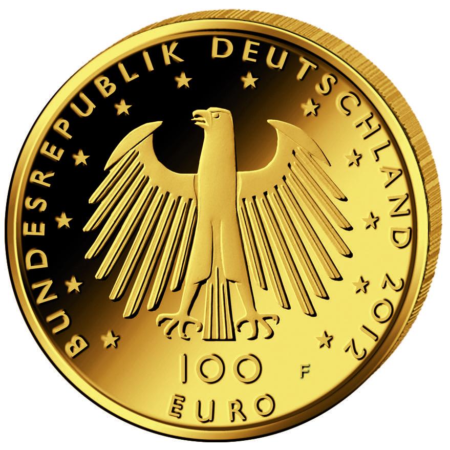 DE 100 Euro 2012 F