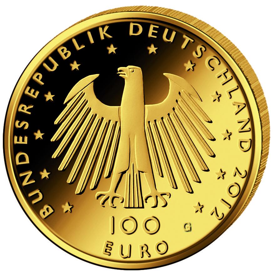 DE 100 Euro 2012 G