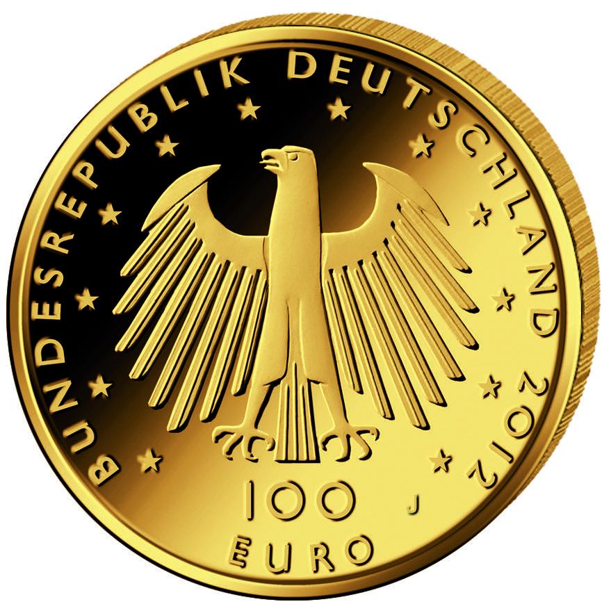 DE 100 Euro 2012 J