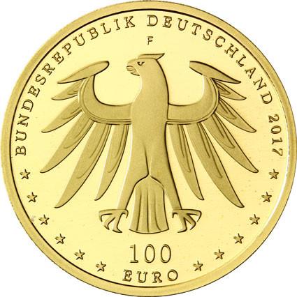 DE 100 Euro 2017 F