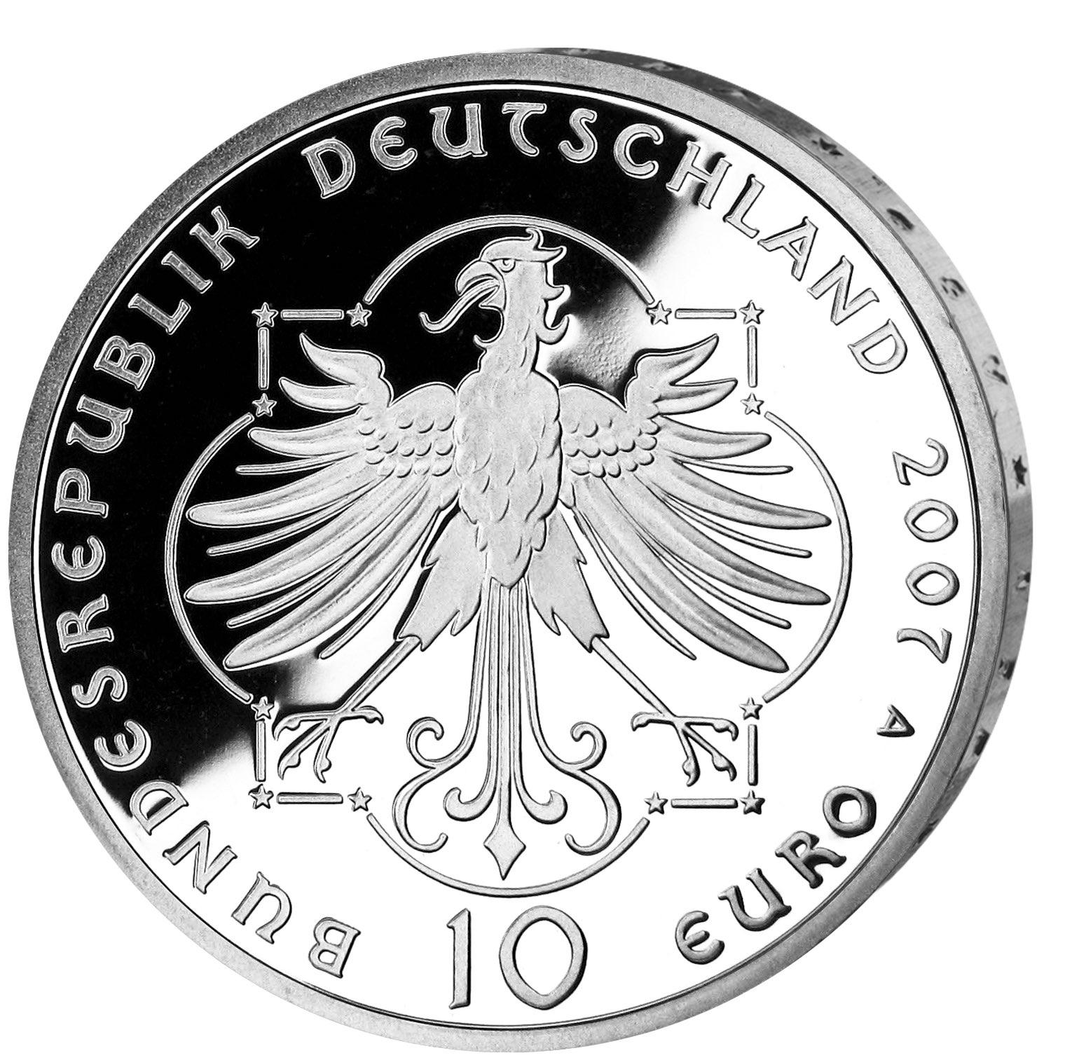 DE 10 Euro 2007 A