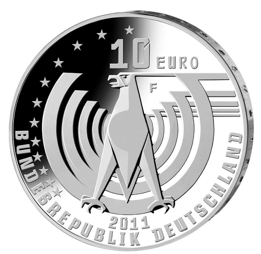 DE 10 Euro 2011 F