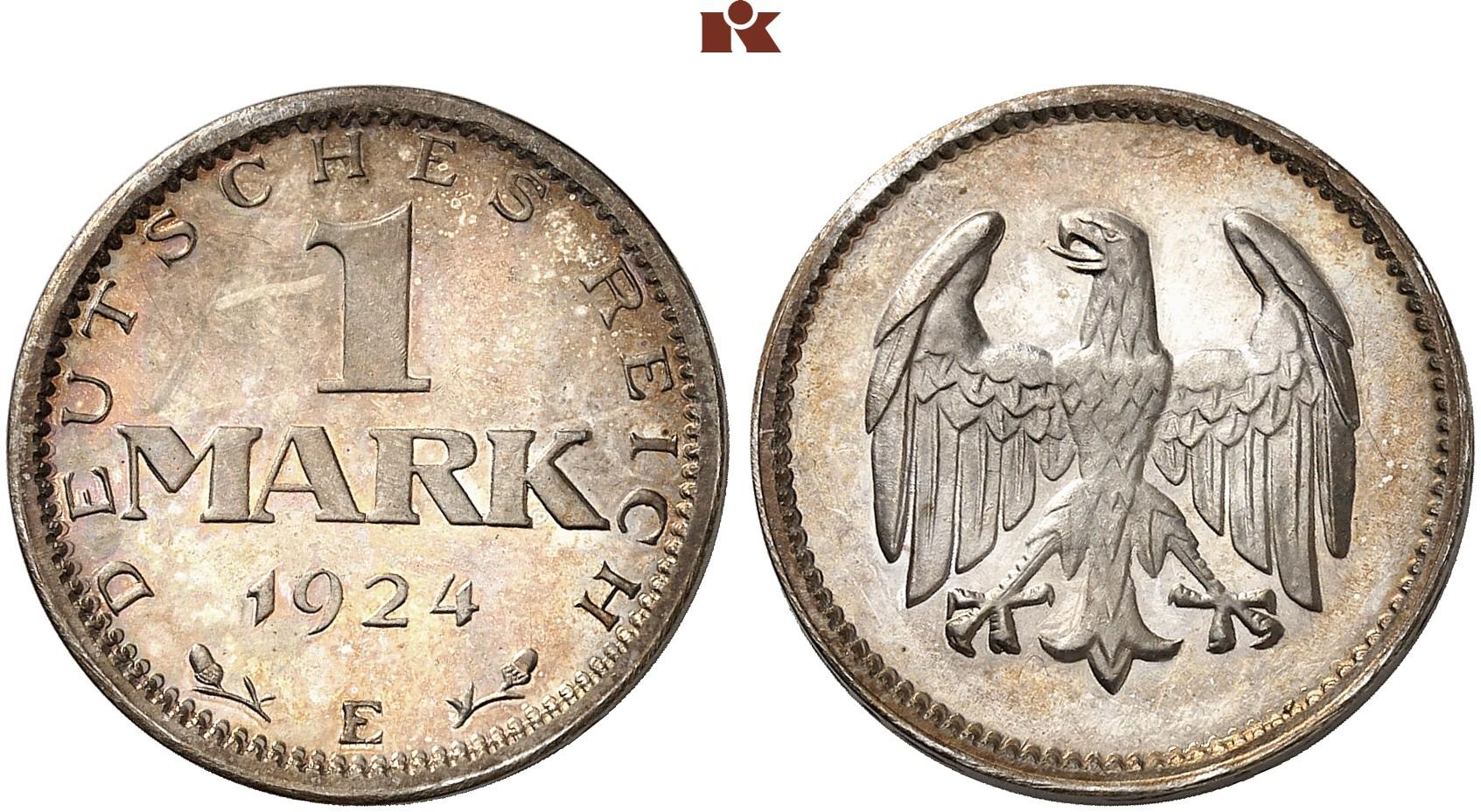 DE 1 Mark 1924 D
