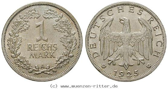 DE 1 Reichsmark 1925 A