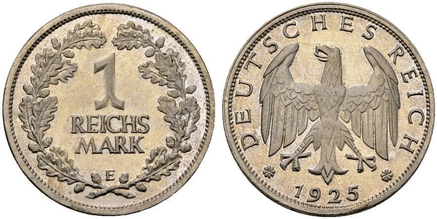 DE 1 Reichsmark 1925 E
