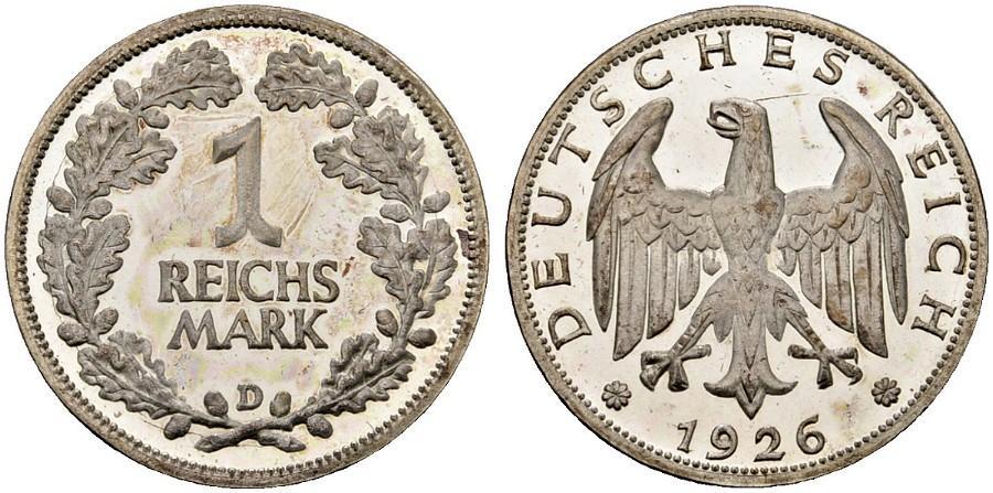 DE 1 Reichsmark 1926 D