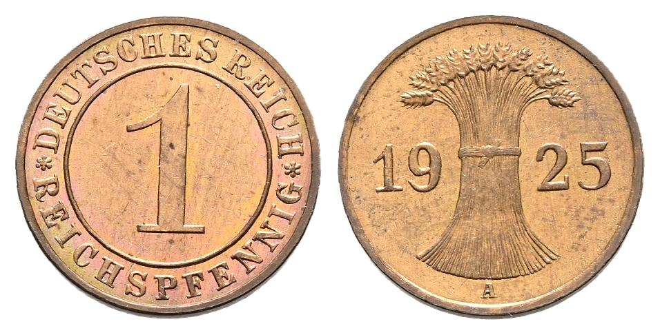 DE 1 Reichspfennig 1925 A