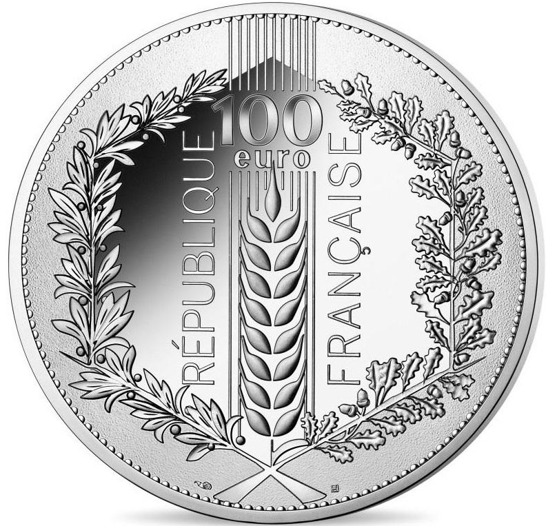 FR 100 Euro 2021 Horn of Plenty