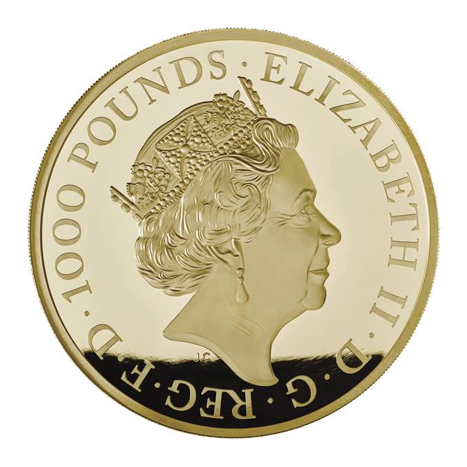 GB 1000 Pounds 2018