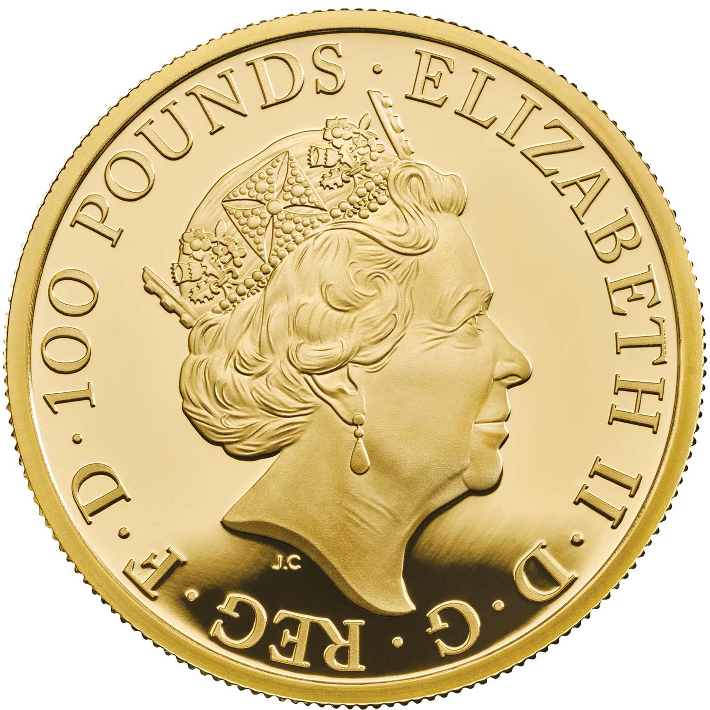 GB 100 Pounds 2019