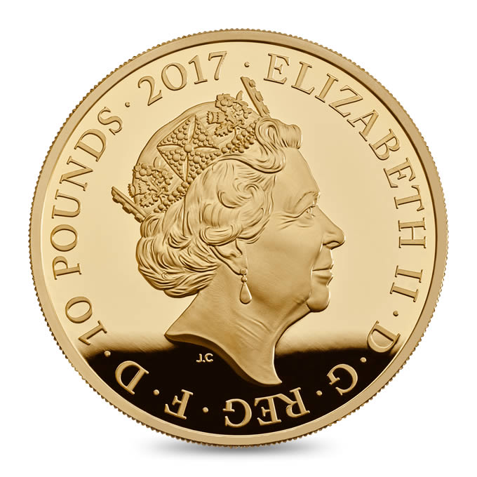 GB 10 Pounds 2017
