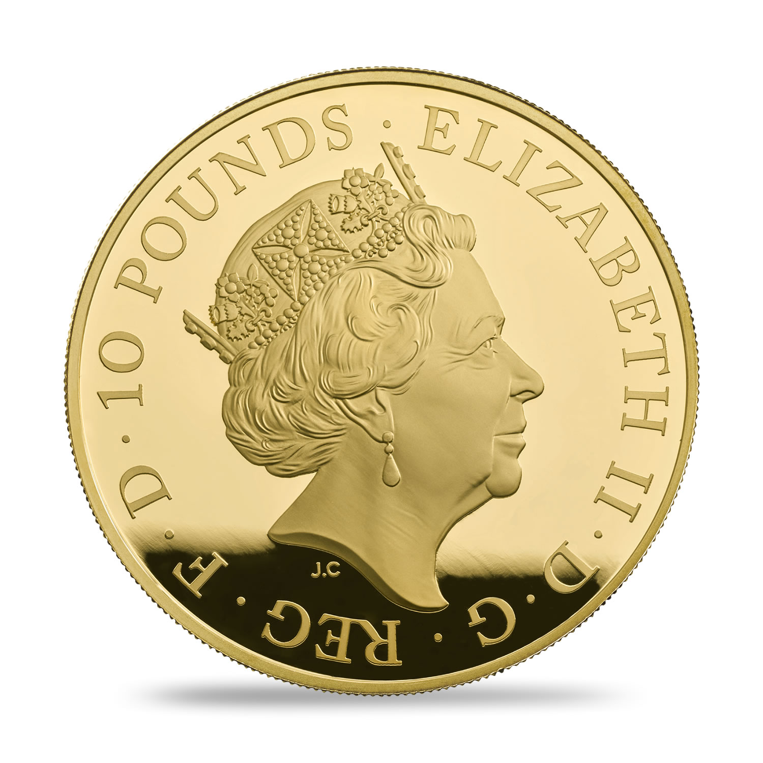 GB 10 Pounds 2018