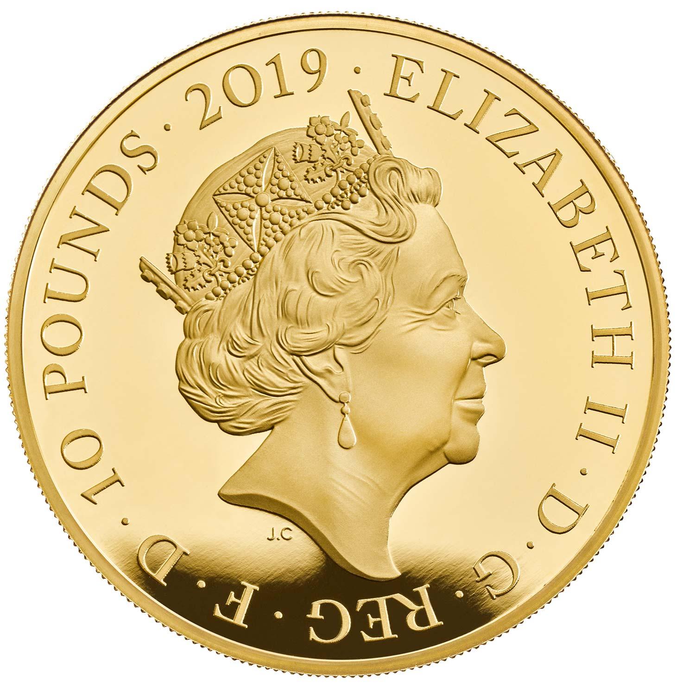 GB 10 Pounds 2019