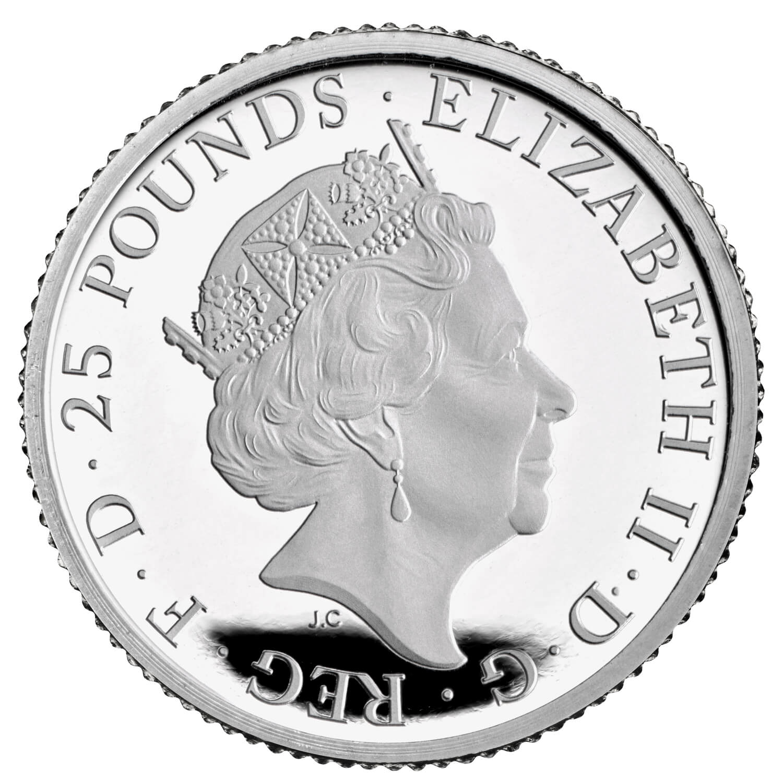 GB 25 Pounds 2021